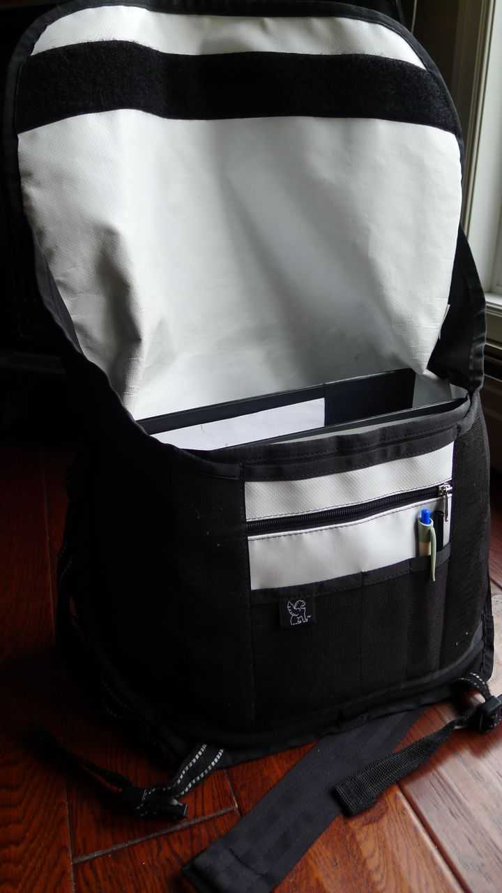 chrome citizen bag - inside view