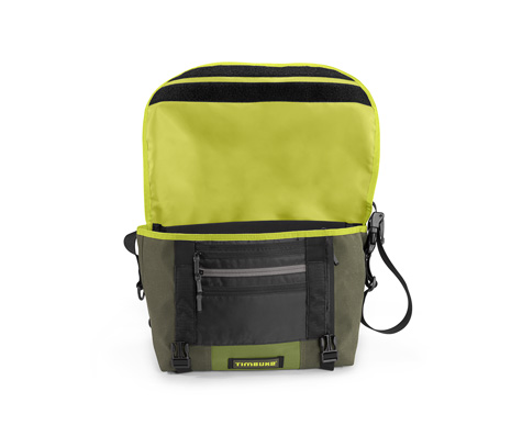 Timbuk2 bag, open