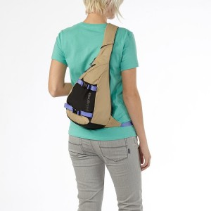 patagonia atom sling bag - women's - back view