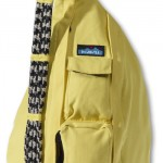 Kavu rope bag in yellow