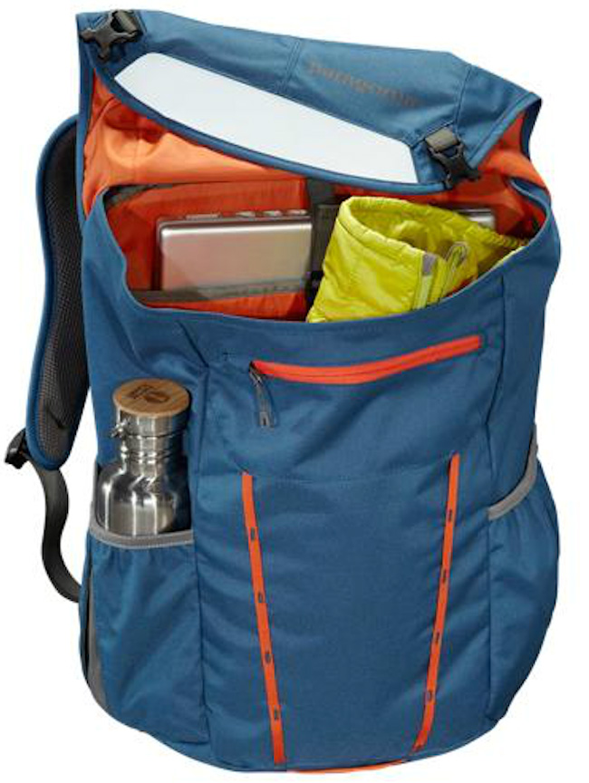 inside of patagonia critical mass pack