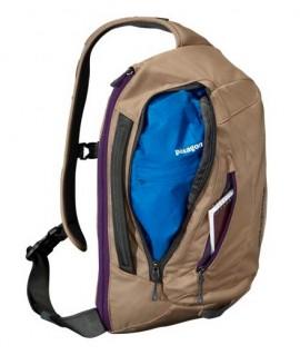 patagonia mass sling bag front