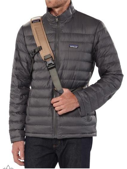 patagonia mass sling shoulder strap front