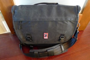 chrome anton bag, front view