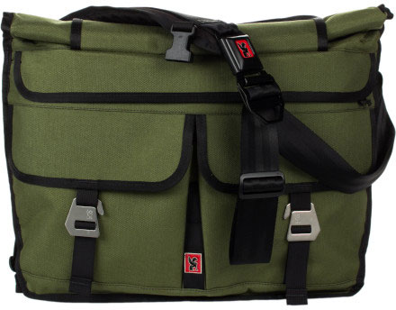 Mission Workshop Roll-Top Messenger Bag - The Shed