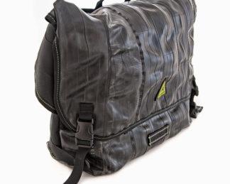 Green Guru Gear CYCLER MESSENGER bag front