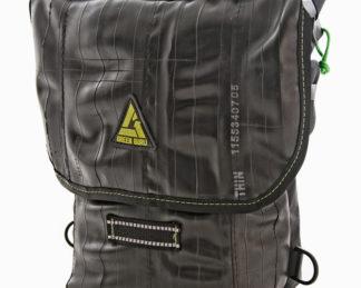 Green Guru Gear KICKSTAND MESSENGER BAG FRONT VIEW