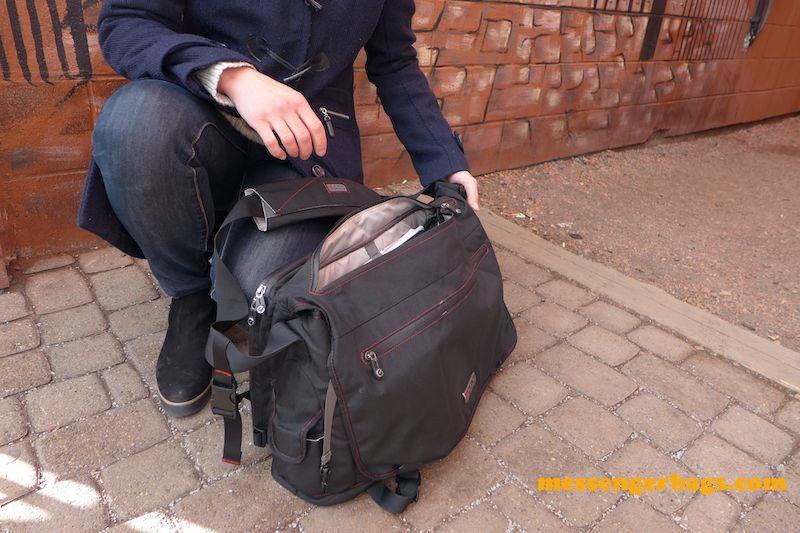 ecbc trident messenger bag top access2