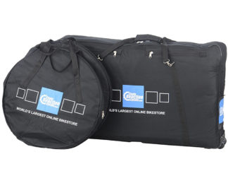 Chain Reaction Cycles Complete Bike & Wheel Bags - CRC Logo - New CRC Logo