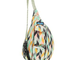 KAVU Mini Rope Sling Bag - Chevron Stripe