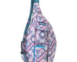 KAVU Rope Sling Bag - Purple Ikat