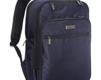 """Kenneth Cole Reaction The Brooklyn Commuter 15"""" RFID Laptop Backpack Navy - Exclusive - Kenneth Cole Reaction Business & Laptop Backpacks"""