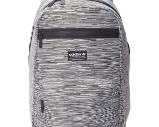 adidas Originals National Primeknit Backpack Prime Knit Rib/ Black - adidas Everyday Backpacks