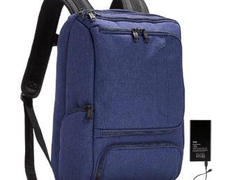 eBags Pro Slim Jr Laptop Backpack - w/ Battery Brushed Indigo w/ Lifeboat Battery - eBags Business & Laptop Backpacks